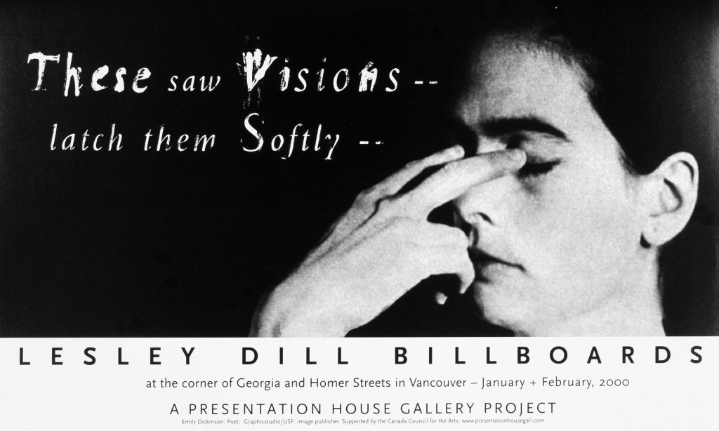 "Poster for the exhibition ""These Saw Visions"""