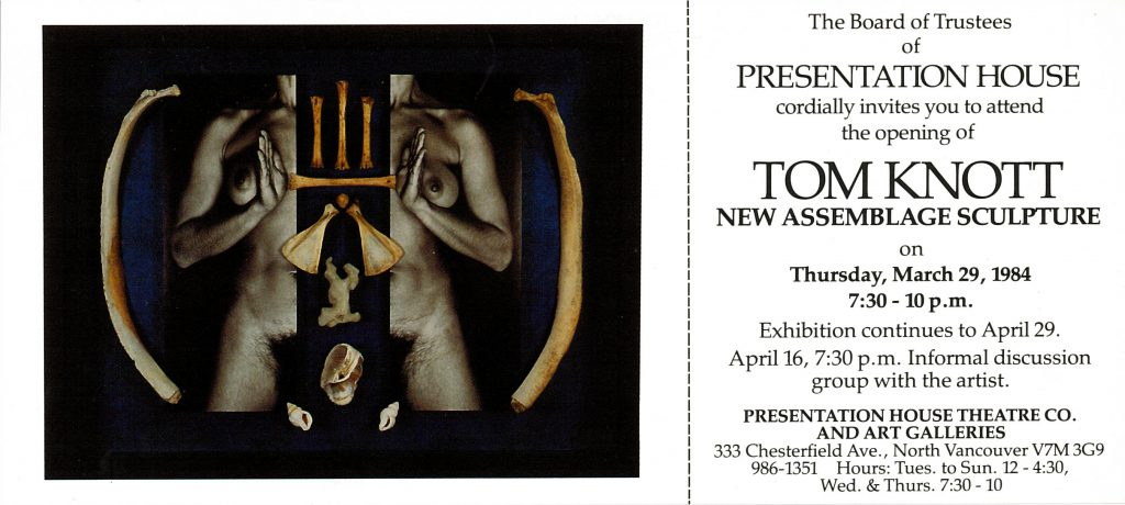 tom knott, Gallery Invitation