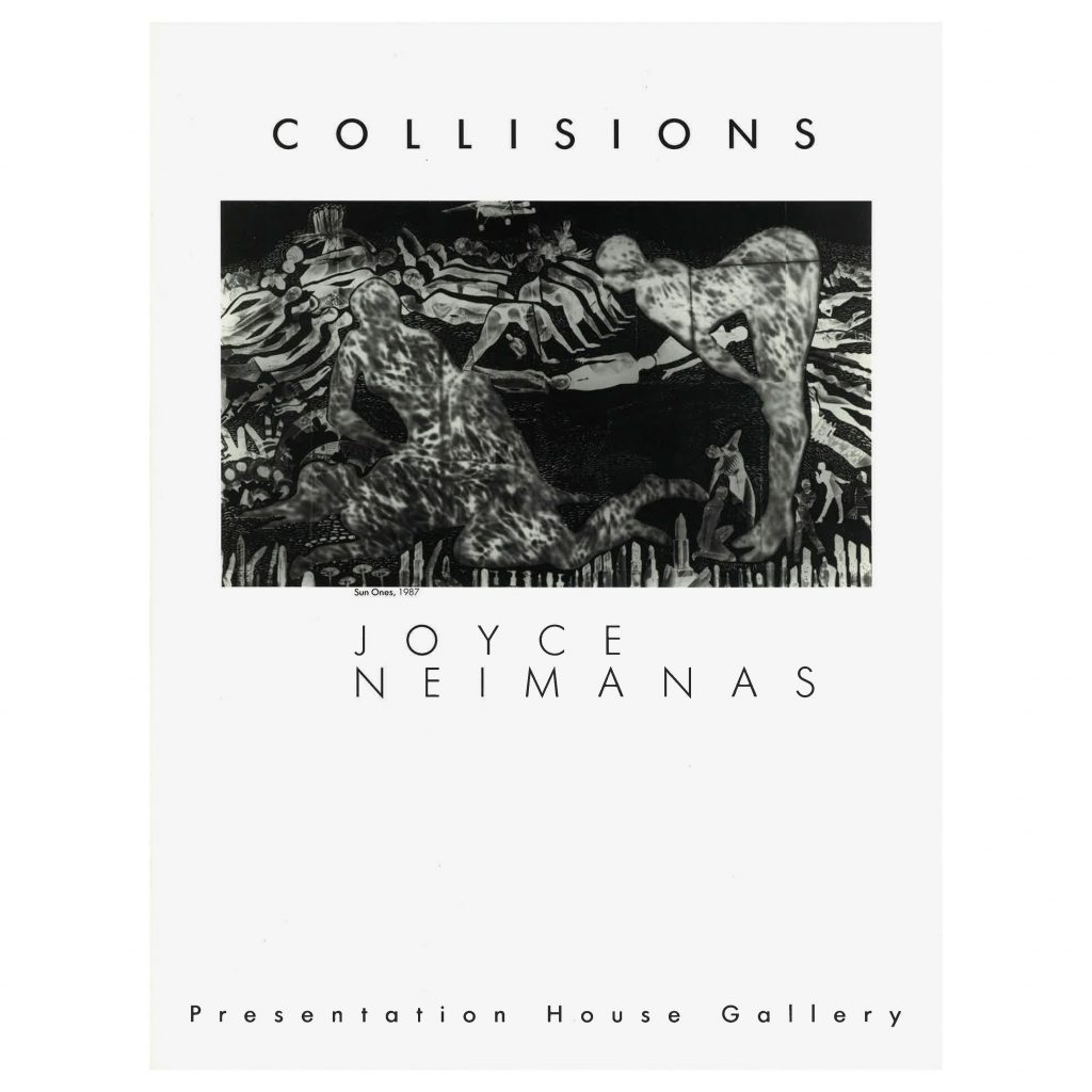 Collisions, Joyce Neimanas, exhibition catalogue
