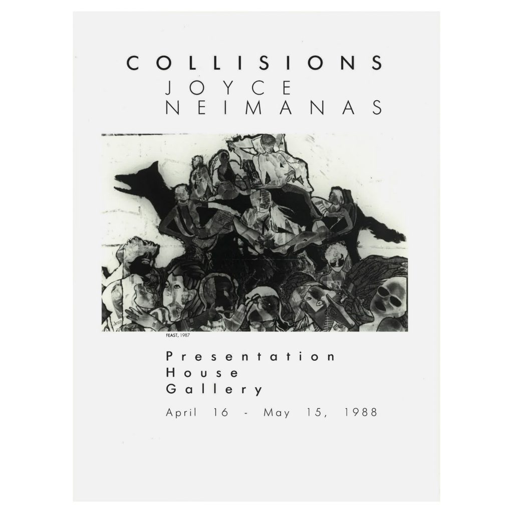 Collisions, Joyce Neimanas, exhibition catalogue B
