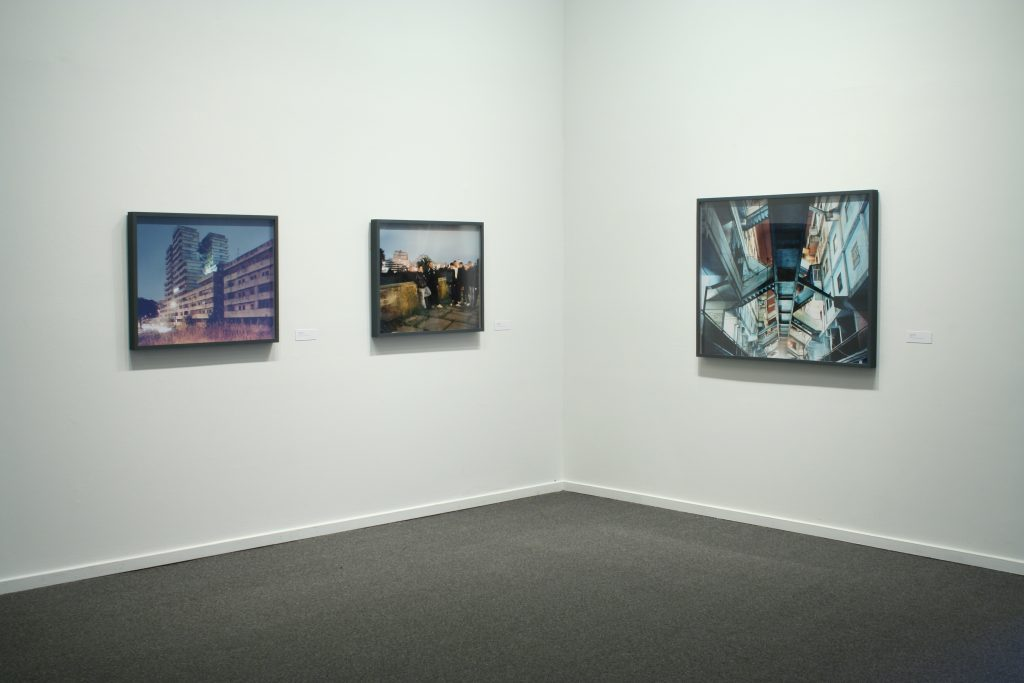 Installation view, Models for Taking Part (Tobias Zelony)