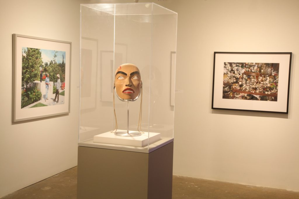 Cindy Sherman Meets Dzunuk'Wa: installation photograph 8