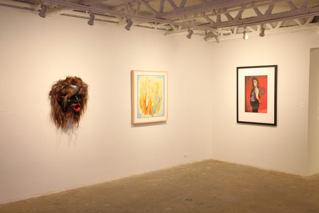 Cindy Sherman Meets Dzunuk'Wa: installation photograph 9