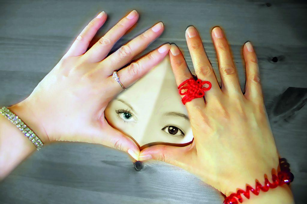 "Celia Wang, ""Your hand, my hand"" 2014"