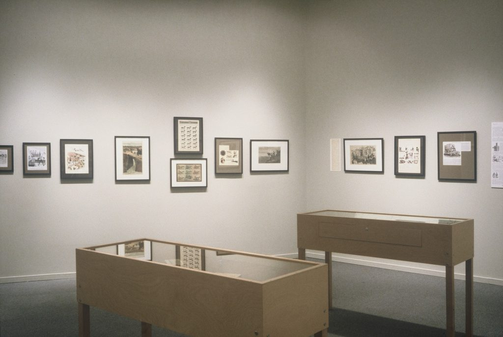 Just Press the Button: A History of Photography in the Comics installation view 4