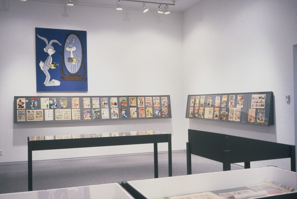 Just Press the Button: A History of Photography in the Comics installation view