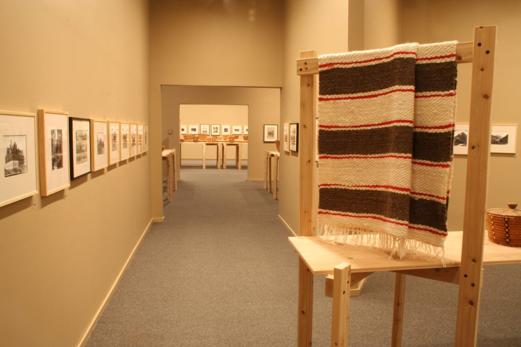 Laid Over To Cover: Weaving and Photography in the Salishan Landscape, installation view 2