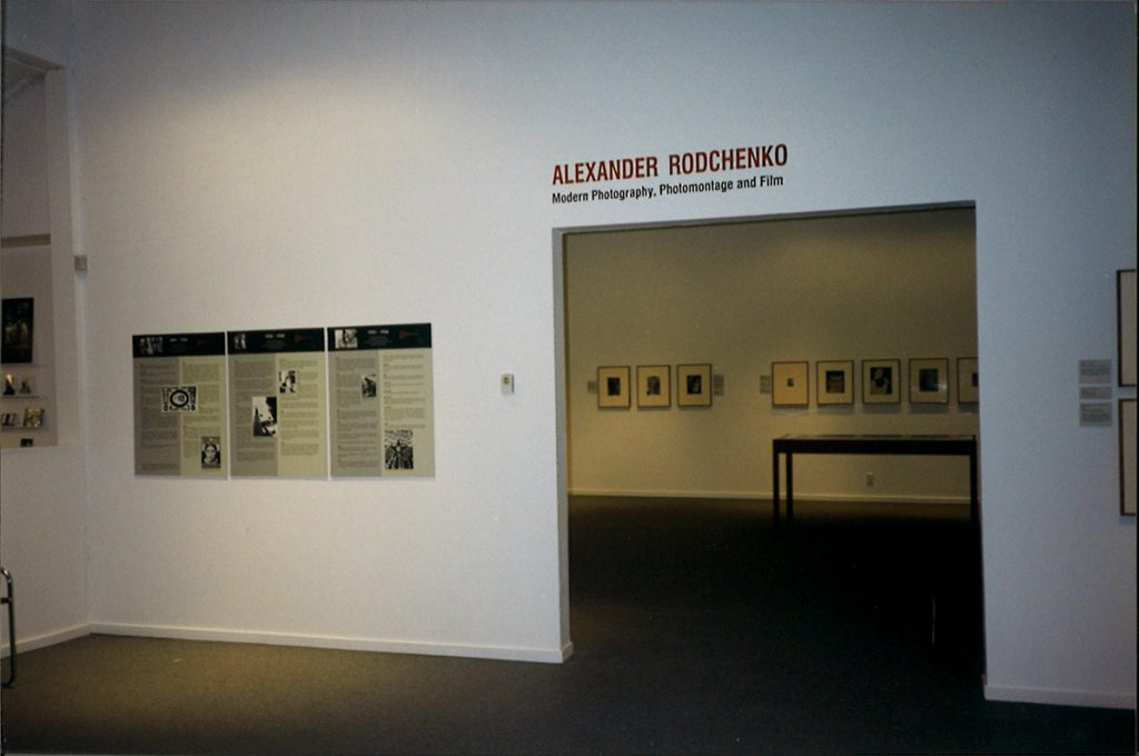Rodchenko installation view