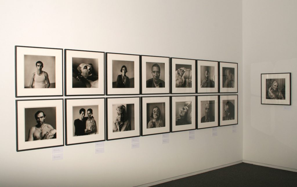 Installation view, Peter Hujar work in Lisette Model and Her Successors