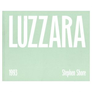 Luzzara - Stephen Shore