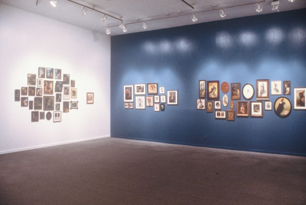 Installation View: Indian Princesses and Cowgirls