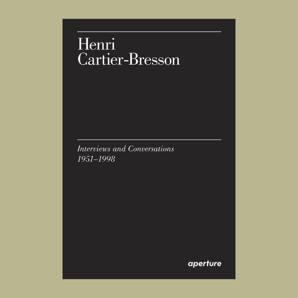 Henri Cartier-Bresson Interviews
