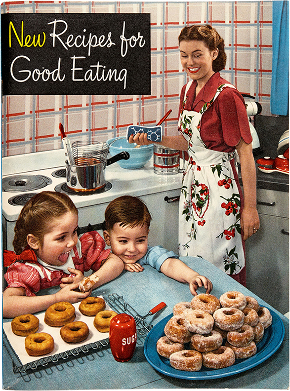 Photographer Unknown, New Recipes for Good Eating, 1949 Crisco, Proctor and Gamble, Cincinnati
