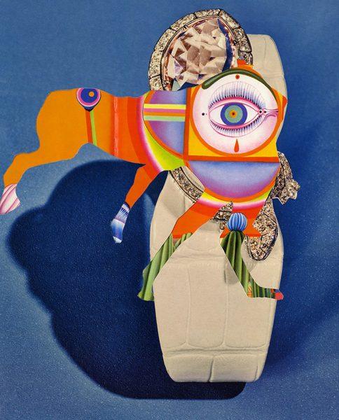 Elizabeth Zvonar, 𝘔𝘢𝘨𝘪𝘤 𝘌𝘺𝘦, 2018, courtesy the artist and Daniel Faria Gallery, Toronto