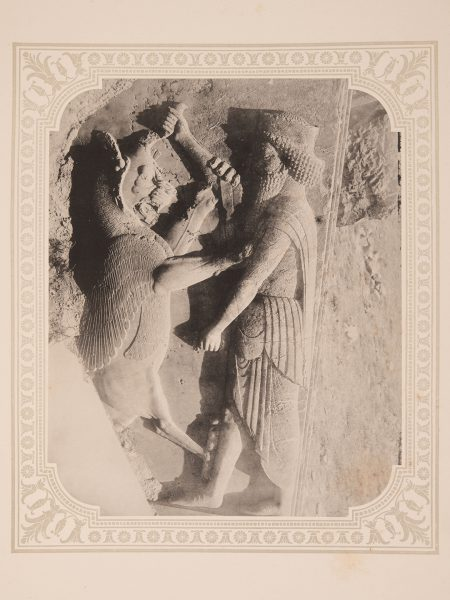 Plate from FRIEDRICH STOLZE. Persepolis. Vol. I. Berlin. Collection of Azita Bina and Elmar W. Seibel