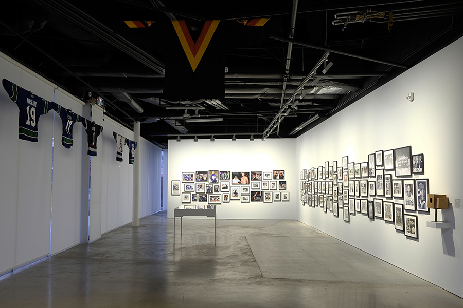 The Canucks - Installation view 1