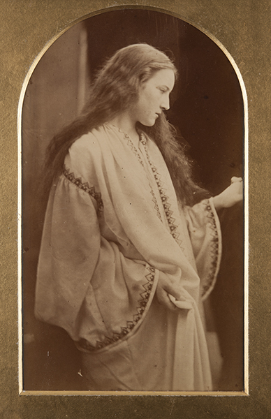 Julia Margaret Cameron, The Guardian Angel, c. 1868. albumen print