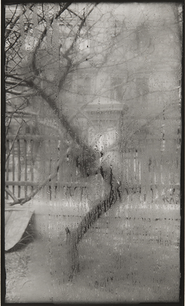 Josef Sudek, From my Window, Prague, 1940. gelatin silver print