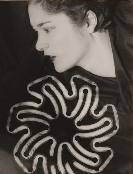 Man Ray, Rayograph (Tanja Ramm), 1930. unique gelatin silver print