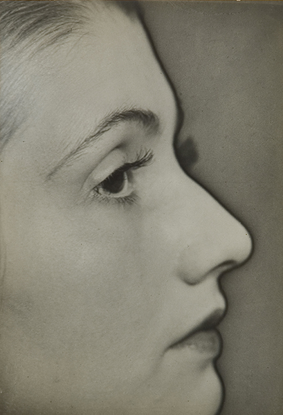 Man Ray, Untitled (Solarized Portrait), c.1930. gelatin silver print