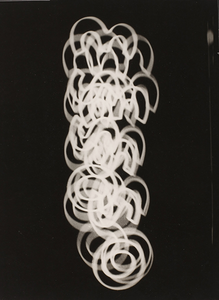 Roger Parry, Untitled (photogram), 1931, unique silver gelatin print