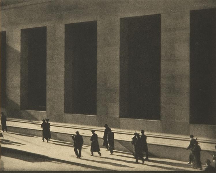 Paul Strand, Wall Street, 1915. photogravure