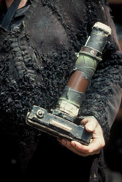 Miroslav Tichy with a camera. Photo by Roman Buxbaum, 1987