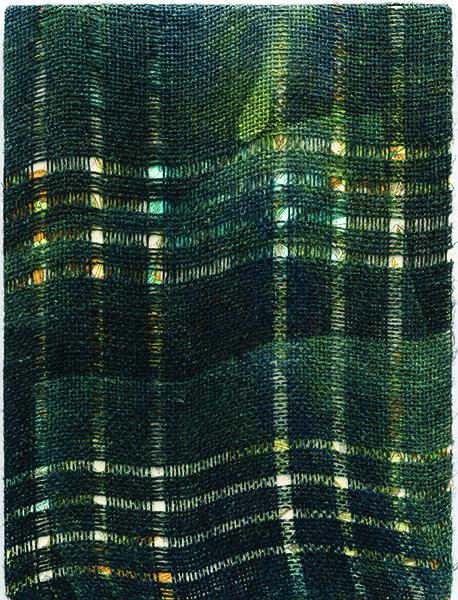 Gregory Kaplowitz, Martin Riley (6), cyanotype photogram
