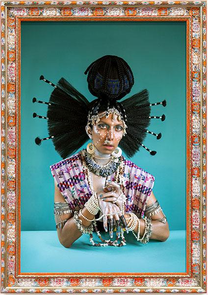 Martine Gutierrez - Demons, Yemaya 'Goddess of the Living Ocean' - Interior Infinite