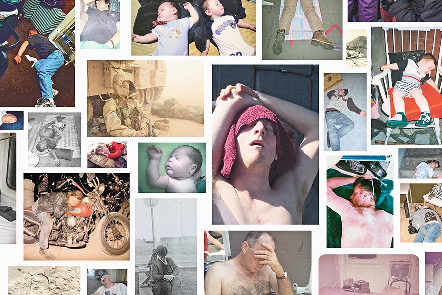Steven Shearer - Sleep II